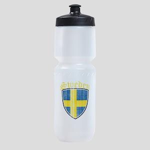 Norway Flag Designs Sports Bottle