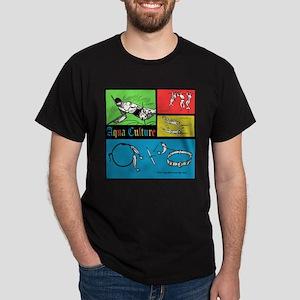 AQUA CULTURE retro graphic T-Shirt