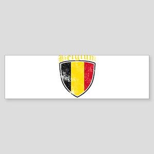 Belgium Flag Designs Bumper Sticker