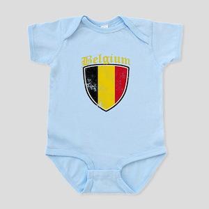 Belgium Flag Designs Body Suit