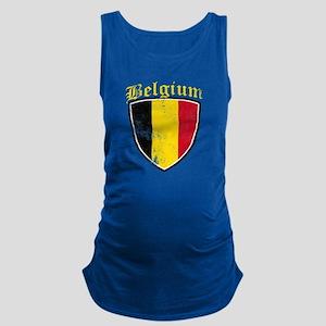 Belgium Flag Designs Tank Top
