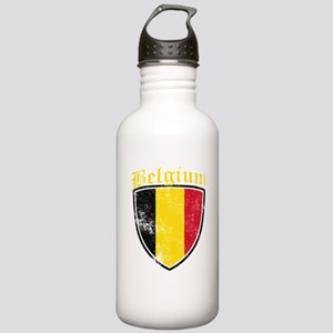 Belgium Flag Designs Stainless Water Bottle 1.0L