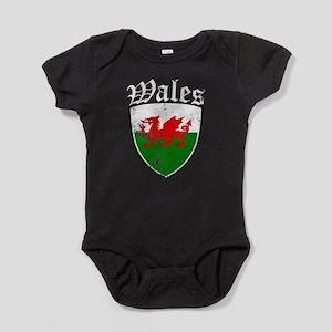 Welsh Flag Designs Body Suit