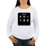 The iShirt (Women's Long Sleeve T-Shirt)
