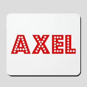 Retro Axel (Red) Mousepad