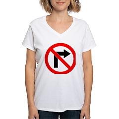 No Right Turn Shirt