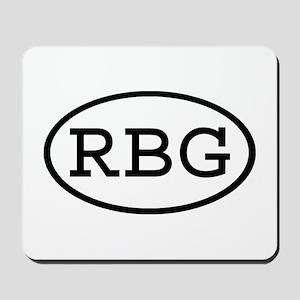 RBG Oval Mousepad