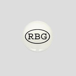 RBG Oval Mini Button