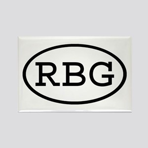 RBG Oval Rectangle Magnet