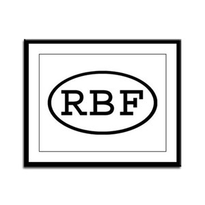 RBF Oval Framed Panel Print