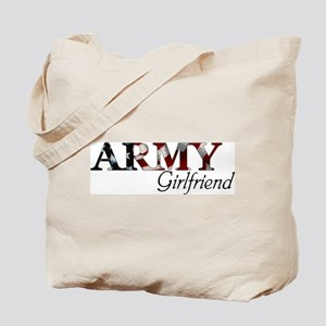 Army Girlfriend (Flag) Tote Bag