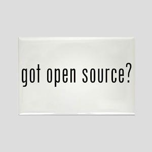 got open source? Rectangle Magnet
