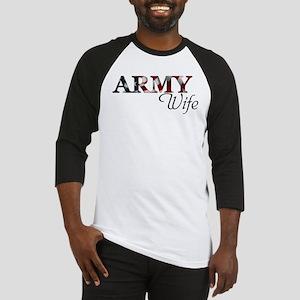 ARMY Wife Baseball Jersey