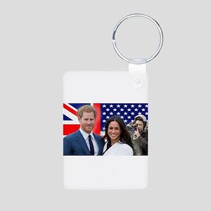 Prince Harry and Meghan Markle Secret Ad Keychains