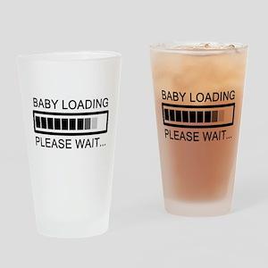 Baby Loading Please Wait Drinking Glass