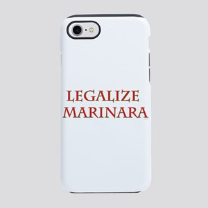 Funny Legalize Marinara iPhone 8/7 Tough Case