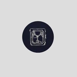 Flux Capacitor Mini Button