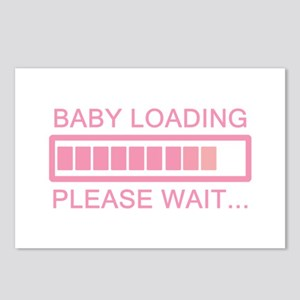 Baby Loading Please Wait Postcards (Package of 8)