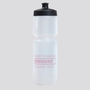 Baby Loading Please Wait Sports Bottle