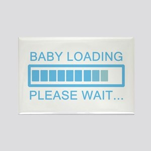 Baby Loading Please Wait Magnets