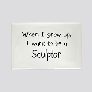 When I grow up I want to be a Sculptor Rectangle M