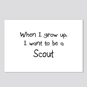 When I grow up I want to be a Scout Postcards (Pac