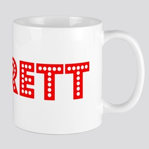 Retro Barrett (Red) Mug