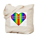 Love Knows No Gender Tote Bag