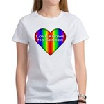 Love Knows No Gender Women's T-Shirt