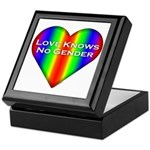 Love Knows No Gender Keepsake Box