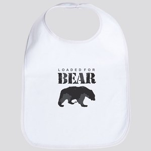 Loaded for Bear Baby Bib