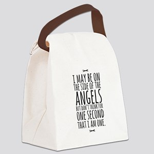 Angels Canvas Lunch Bag