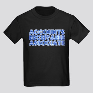 Retro Accounts Re.. (Blue) Kids Dark T-Shirt