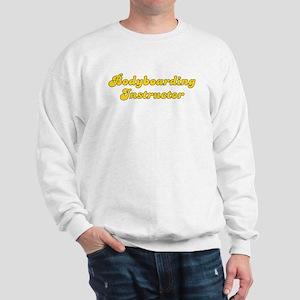 Retro Bodyboardin.. (Gold) Sweatshirt