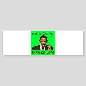 OBAMA CULT Bumper Sticker