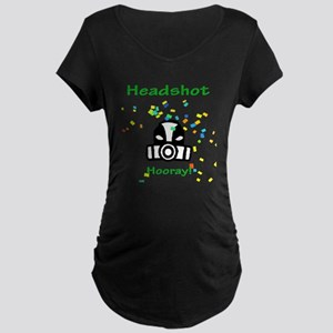 Halo Grunt Headshot Maternity Dark T-Shirt