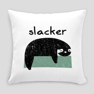 Funny Sloth Slacker design Everyday Pillow