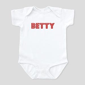 Retro Betty (Red) Infant Bodysuit