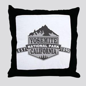 Yosemite - California Throw Pillow