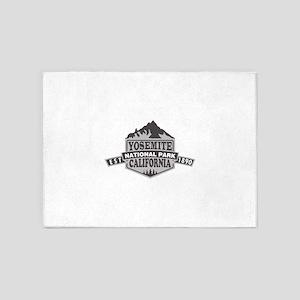 Yosemite - California 5'x7'Area Rug