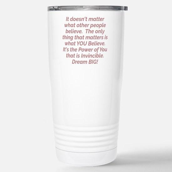 Power of You Travel Mug