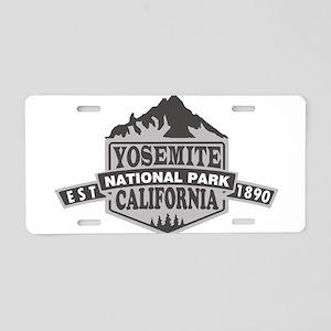 Yosemite - California Aluminum License Plate