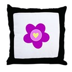 Flowers Are Fun Throw Pillow