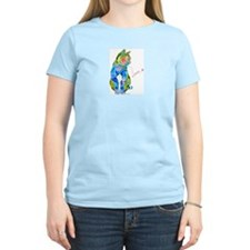 Summer Kitty Women's Light T-Shirt