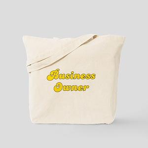 Retro Business ow.. (Gold) Tote Bag