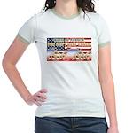 Lance: American Hero 2005 Jr. Ringer T-Shirt