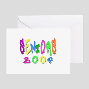 multifunky seniors Greeting Card