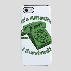 Rotary Phones Suck! iPhone 8/7 Tough Case