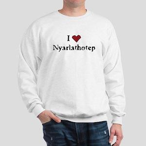 I heart Nyarlathotep Sweatshirt