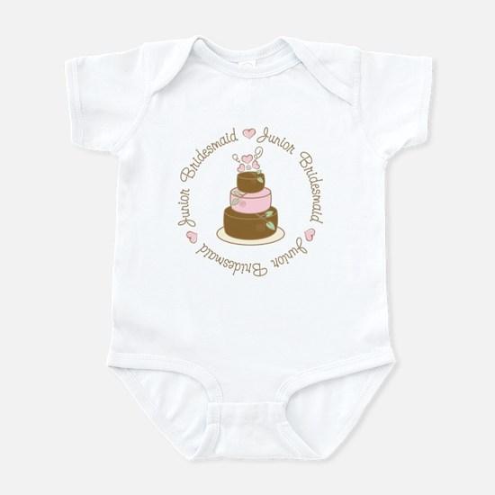 Sweet Jr. Bridesmaid Cake Infant Bodysuit